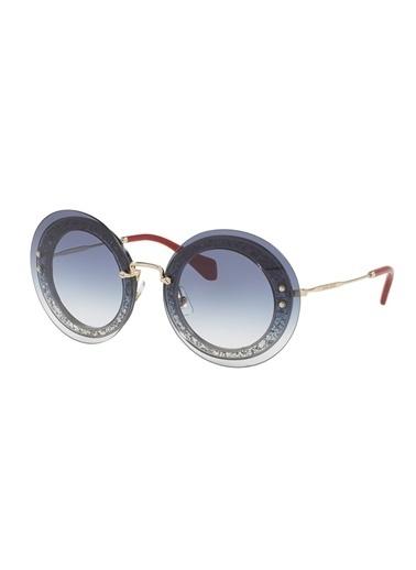 Miu Miu Miu Miu 0MU 10RS Kadın Güneş Gözlüğü Renksiz